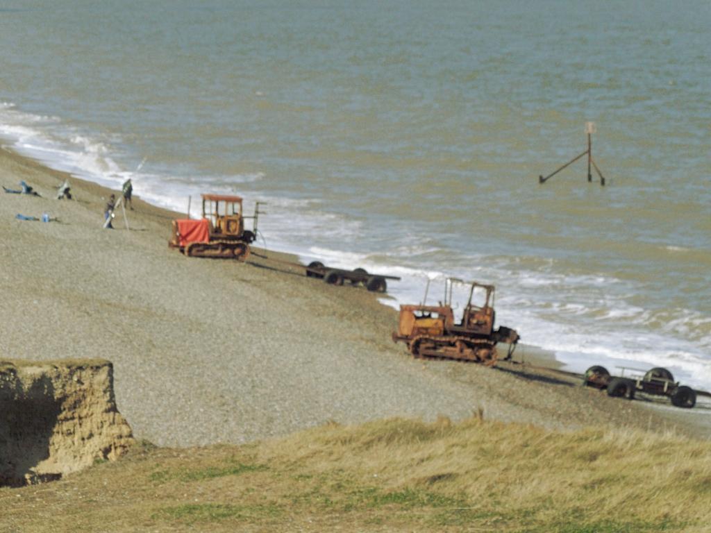 Weybourne beach