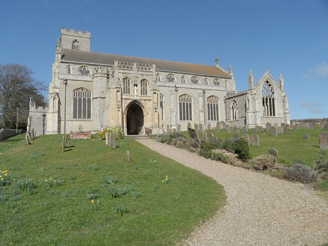 Cley church