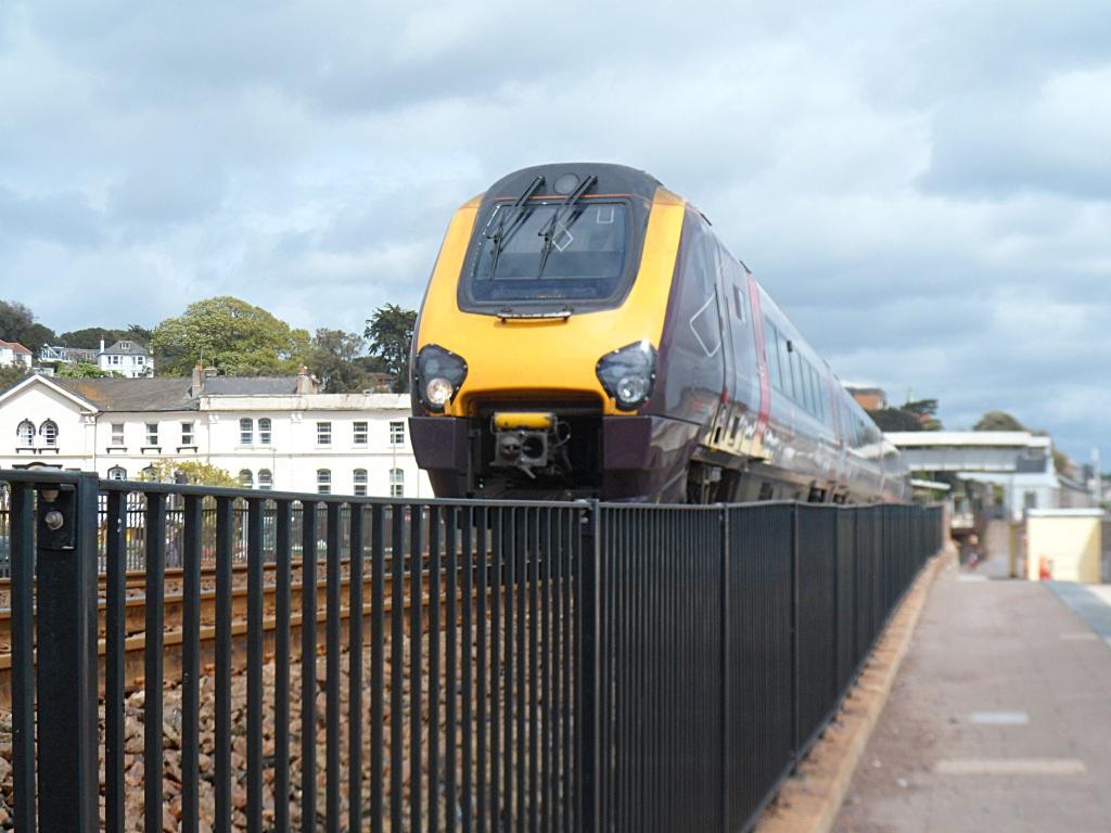 Dawlish fast train