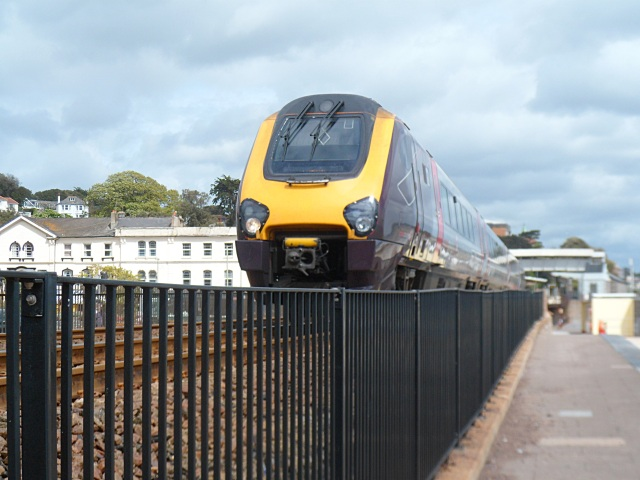 Dawlish fast train