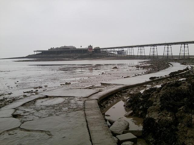 Weston Pier Grey Day